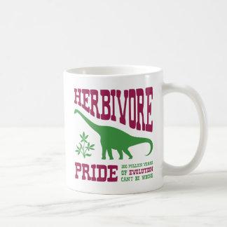 Mug Dinosaure herbivore drôle de végétarien de fierté