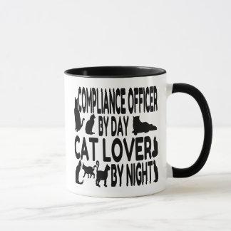 Mug Dirigeant de conformité d'amoureux des chats