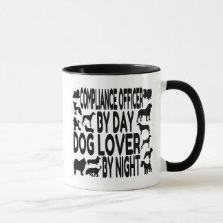 Mug Dirigeant de conformité d'amoureux des chiens