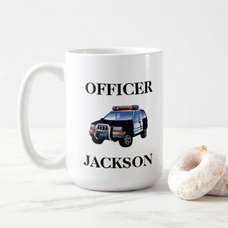 Mug Dirigeant personnalisé de voiture de police