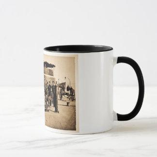 Mug Dirigeants sur la plate-forme de la guerre civile