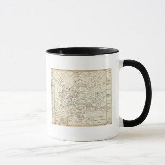 Mug Distribution des mammifères