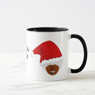 Mug Dites à Père Noël noir ce que vous voulez pour