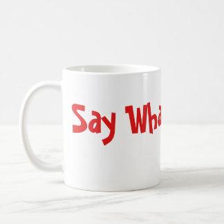 """Mug """"Dites ce qui"""" des emojis"""