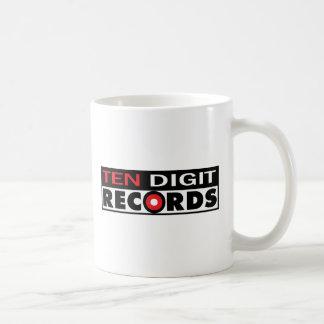 Mug Dix - disques de chiffre