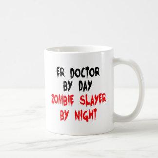 Mug Docteur d'ER de tueur de zombi
