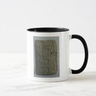 Mug Document se composant des idéogrammes, d'Uruk,