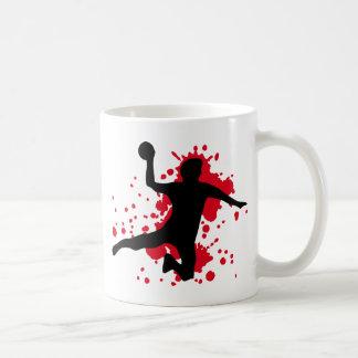 Mug dodgeball sanglant de handball