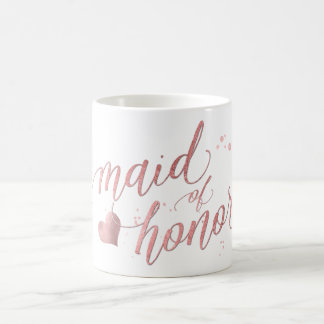 Mug Domestique de PixDezines d'honneur/d'or de Faux/de