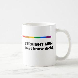 Mug Don&apos d'hommes droits ; t connaissent le dick