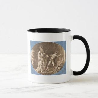 Mug Don Giovanni et la statue du Commandantore