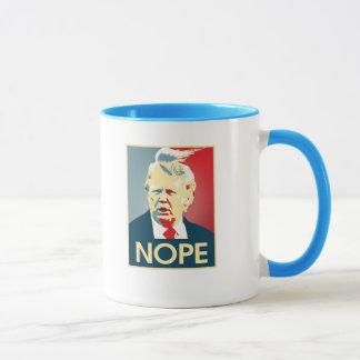 Mug Donald Trump NOPE -- Anti-Atout 2016 -