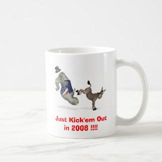Mug Donnez- un coup de piedjuste les en 2008 ! ! ! !