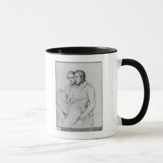 Mug Double portrait de Hippolyte et de Paul Flandrin