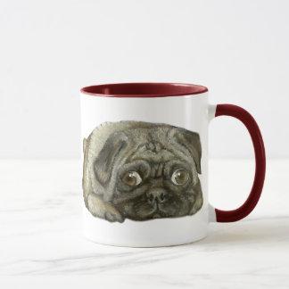 Mug Douillettement comme carlin