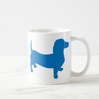 Mug Doxie bleu, teckel