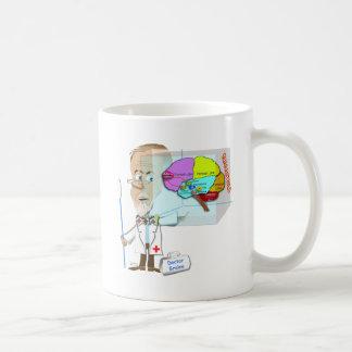 Mug Dr. Braino Quarantines un cerveau