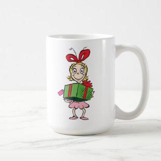 Mug Dr. Seuss   Cindy-Lou qui - tenir le présent