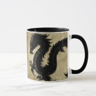 Mug Dragon noir