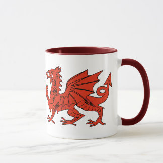 Mug Dragon rouge