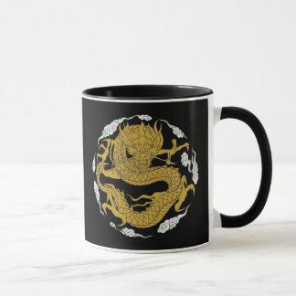 Mug Dragon traditionnel d'or