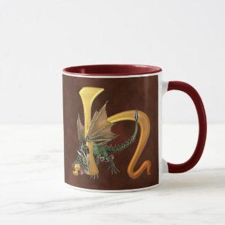 Mug Dragonlore H initial