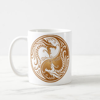 Mug Dragons de Yin Yang, bruns