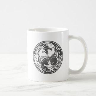 Mug Dragons gris de Yin Yang
