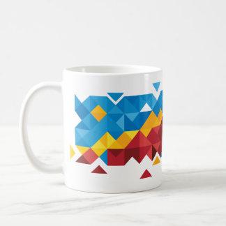 Mug Drapeau abstrait du Congo, République démocratique