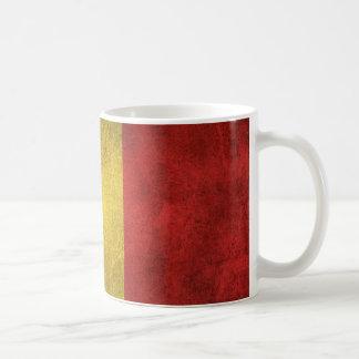 Mug Drapeau affligé par cru de la Belgique
