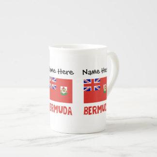 Mug Drapeau bermudien Bermudes avec le nom
