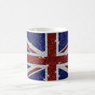 Mug Drapeau brillant d'Union Jack d'étincelle de