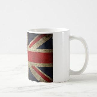 Mug Drapeau britannique antique R-U d'Union Jack