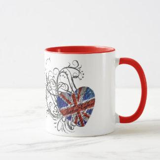 Mug Drapeau britannique ornemental