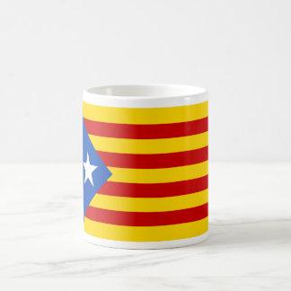 "Mug Drapeau catalan de l'indépendance de ""L'Estelada"