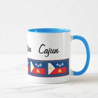 Mug Drapeau d'Acadiana Cajun