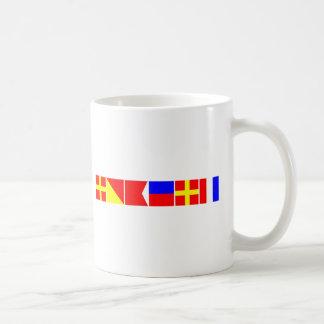 Mug Drapeau de code Robert