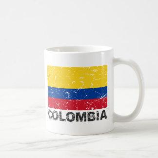 Mug Drapeau de cru de la Colombie