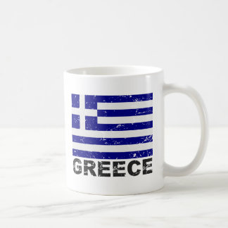 Mug Drapeau de cru de la Grèce