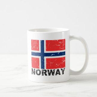 Mug Drapeau de cru de la Norvège