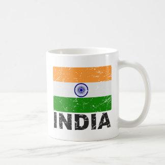 Mug Drapeau de cru de l'Inde