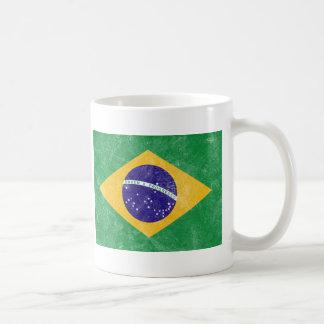Mug Drapeau de cru du Brésil
