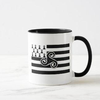 Mug Drapeau de la Bretagne (Breton)