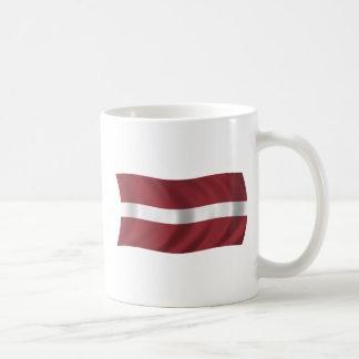 Mug Drapeau de la Lettonie