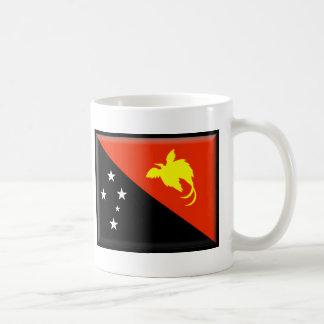 Mug Drapeau de la Papouasie-Nouvelle-Guinée