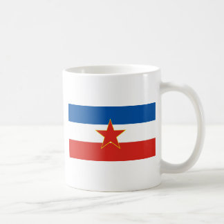 Mug drapeau de la Yougoslavie