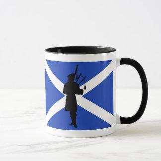 Mug Drapeau de l'Ecosse, silhouette écossaise de