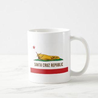 Mug Drapeau de lingot de banane de République de Santa