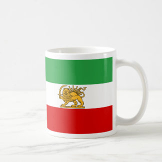 Mug Drapeau de Perse/de Iran (1964-1980)