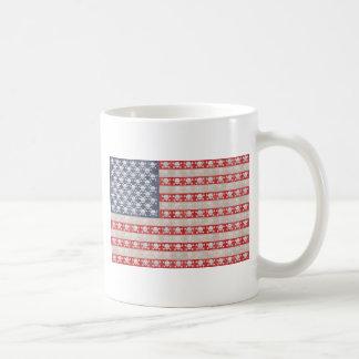 Mug Drapeau de pirate américain